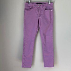 Joe's Jeans Sz 26 Purple Skinny Ankle Jeans